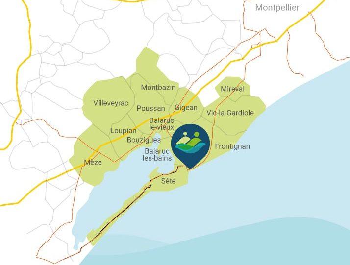 treize communes territoire CPTS